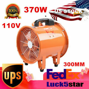 Ventilator Explosion Proof Axial Fan 12 Inches Extractor Blower Spray Booth Fan