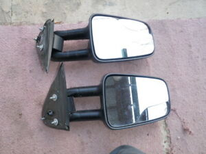 1999 2007 Chevy Silverado Pickup Truck Manual Extendable Towing Mirrors