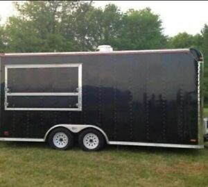 8 5 X 18 Kitchen Food Trailer With Pro fire Suppression System For Sale In Ohi