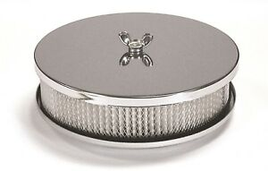 Mr Gasket 1486 Air Cleaner 65 Inch 6 12 Air Filter Housing Rat Rod Hot Rod
