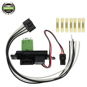 Front Heater Blower Motor Resistor For Chevy Gmc Cadillac Pickup Truck Suv Bmr14