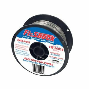 Fi shock Fw 00018d Electric Fence Wiring With Aluminum Wire 17 Gauge 250