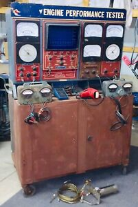 Vintage Sun Model Eet 1160 Electronic Engine Analyzer W timing Light And More