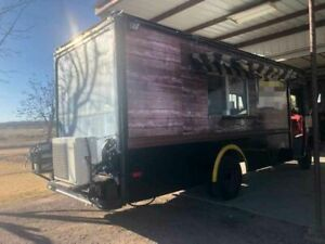 Used Step Van Mobile Kitchen Ready For Service Food Truck For Sale In New Mexi