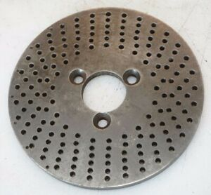 Dividing Head Rotary Table Indexing Plates 5 Dia 1 12 Bore 4mm On Center