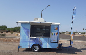 Turnkey Ready 2020 6 X 10 Sno Pro Shaved Ice Snowball Concession Trailer For S