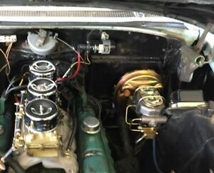 1958 Buick Power Brake Conversion Modern Booster And Master Cylinder 58