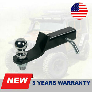 Class 3 Ball mount Combo W 2 Drop And 1 7 8 Trailer Hitch Ball Fit 2 receiver