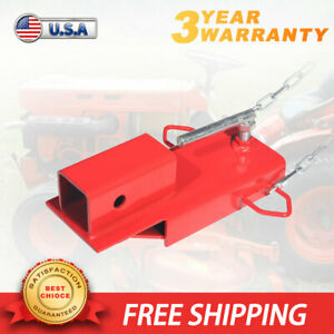 2 Trailer Forklift Towing Adapter Pallet Fork Insert Receiver Hitch Attachment