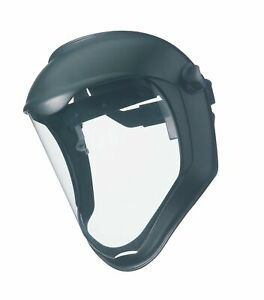 Uvex By Honeywell S8500 Bionic Face Shields Uncoated Clear black Matte