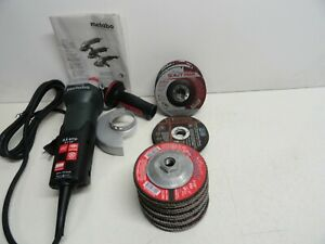 Metabo Angle Grinder Wp 9 115 Quick With 20 Extra Discs