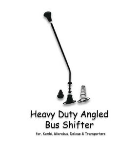 Vw Type 2 Bus 1960 1967 And Baywindow 1968 1972 Heavy Duty Black Angled Shifter