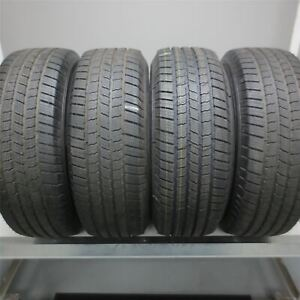 265 60r18 Michelin Defender Ltx M s 110t Tire 12 32nd Set Of 4 No Repairs
