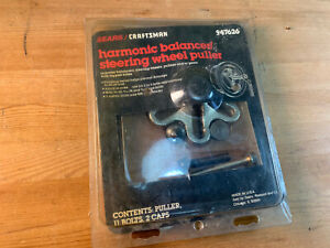 Craftsman Usa 47626 Harmonic Balancer Steering Wheel Puller Free Shipping