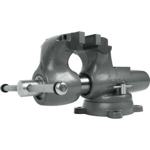 Wilton 28834 800s Machinist 8 Jaw Round Channel Vise With Swivel Base