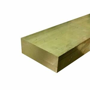 C360 Brass Rectangle Bar 1 X 3 X 7