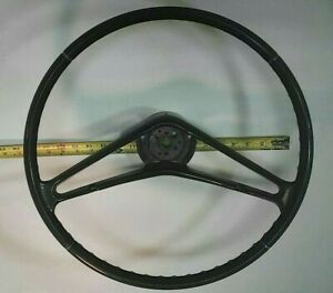 Original Style New Chevy Pass 1959 1960 Black Steering Wheel Reproduction Impala