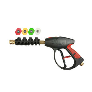 Pressure Washer Lance 3000 Psi With 4 color Pressure Water Washer Nozzles Light