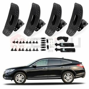 4 Pieces Roof J bar Rack Kayak Boat Canoe For Suv Top Mount Carrier Universal