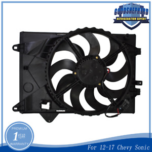 12v Radiator Ac Condenser Electric Cooling Fan For 12 17 Chevy Sonic 94509632
