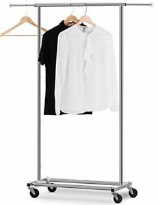 Auledio Clothes Rack Multi function Garment Rack Heavy Duty Commercial Grade Cl