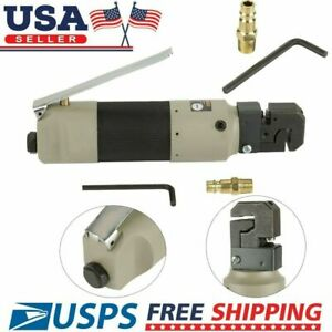 Pneumatic Air Powered Punch Flange Auto Body Welding Sheet Metal Tool Connector