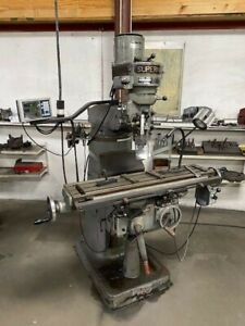 make Offer Supermax Vertical Milling Machine Mill W Fagor Dro