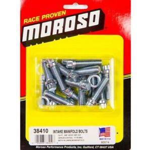 Moroso 38410 Intake Bolts For Bb Chevy New