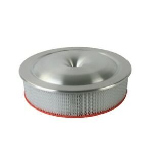 Moroso 65920 Low Profile Racing Air Cleaner Round White Paper Element New