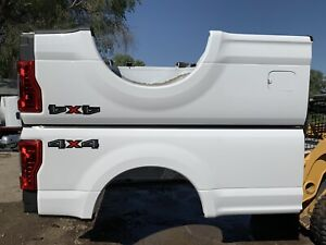 Ford Superduty New Take Off 8 Long Box 2017 20 F350 Super Duty Bed F250 White