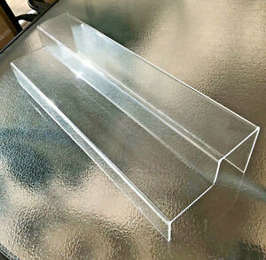 2 Step Tier Acrylic Display Riser Stand Retail Counter Case Showcase Jewelry