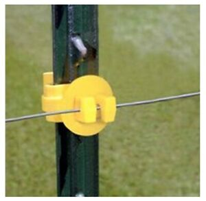 Fi shock Ity fs Electric Fence Insulators Yellow