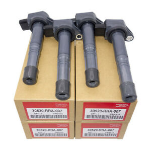 4pcs Set Ignition Coils 30520 Rra 007