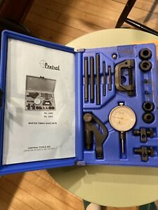 Central Precision Tools Master Timing Gage Set