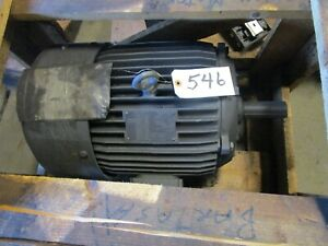 New Emerson Elt15e1d 15 Hp Electric Motor 254t Frame 208 230 460 Vac 3540 Rpm