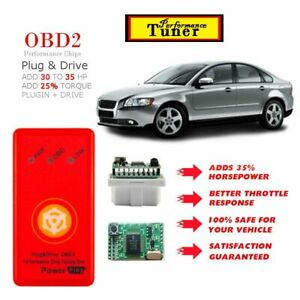 For 1999 2012 Volvo S40 Performance Tuning Chip Power Tuner Programmer