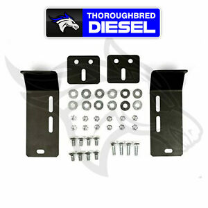 Sinister Diesel Bumper Conversion Brackets For 1991 1998 Ford Superduty To 2010