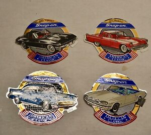 4 Snap On Tools Stickers Chevy Mustang Vette American Classic Collector Series