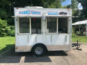 Used 2012 8 5 X 10 Concession Fried Food Trailer For Sale In Indiana