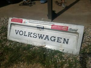Original Vw Volkswagen Rabbit Caddy Pickup Truck Tailgate Diesel