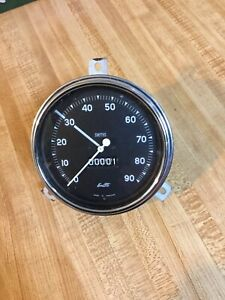 Vintage Smiths Speedometer 35 36 37 38 39 Ford Hot Rod Lincoln Rat Scta Trog