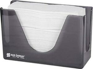 San Jamar T1720tbk Countertop Towel Dispenser Black Pearl