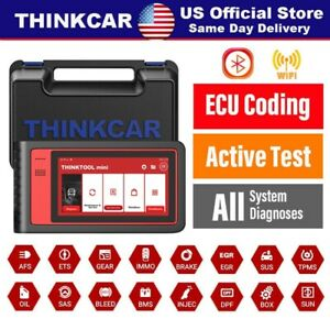 2020 New Full System Bi Directional Diagnostic Scan Tool Ecu Coding Obd2 Tablet