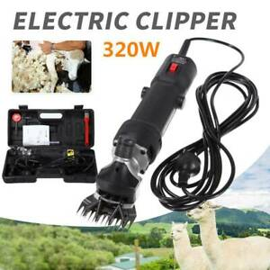 Sheep Goat Shears Clippers Electric Animal Shave Grooming Tool Farm Supplies