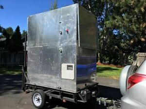 2015 4 X 6 Class Iv County Approved Street Food Concession Cart For Sale In