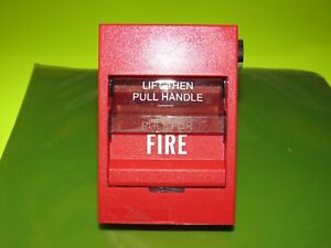 Edwards Est Siga 278 Dual Action Fire Alarm Pull Station
