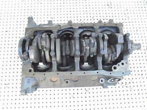 1965 Mustang 289 V 8 Engine Motor Block With Main Caps C5ae