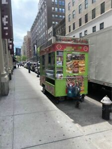 Turnkey Ready Permitted Street Food Concession Trailer With Toyota 4runner For S