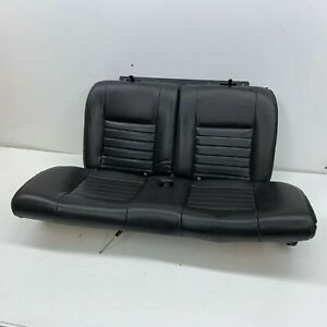 1999 2004 Oem Ford Mustang Coupe Gt Leather Rear Seats Back Seat Charcoal S7495