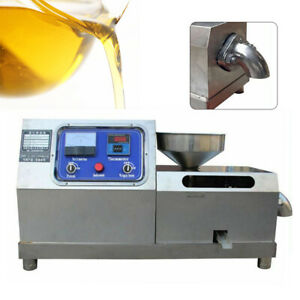 Commercial Electric Auto Nut Seeds Oil Extractor Expeller Oil Press Machine Sale